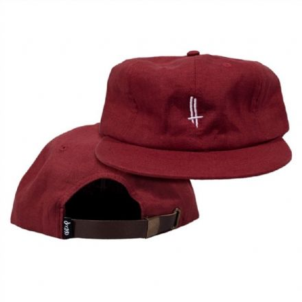 The Trip Rip Stop Life 6 Panel Cap - Red